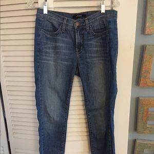 Blue side striped jeans!